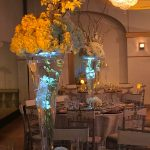 Wedding Large Centerpieces with lights Le Bam Studio